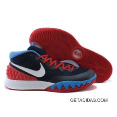 Nike Kyrie 1 Red White And Blue Basketball Shoes Lastest 318915daa2df2