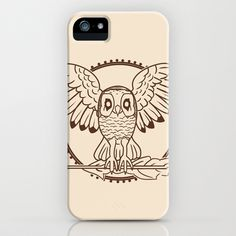 Mystical Owl iPhone Cases