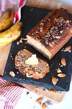 Banana bread sans gluten
