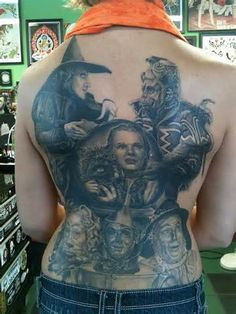 Image detail for -wizard of oz sleeve in progress keyword galleries color tattoos ...