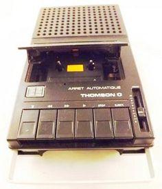 Magnétophone à Cassette Thomson MK 171 (Années 70)                                                                                                                                                                                 Plus