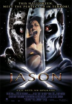 Jason X posters for sale online. Buy Jason X movie posters from Movie Poster Shop. We're your movie poster source for new releases and vintage movie posters. X Movies, Scary Movies, Movies To Watch, Good Movies, Movies Online, Movie Tv, Movie Sequels, Movie Plot, Movies Free