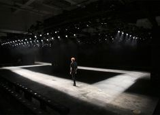 Cullen Projects builds glowing perforated boxes for London menswear shows.