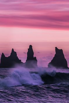 "r2–d2: "" Iceland Sea Stacks """