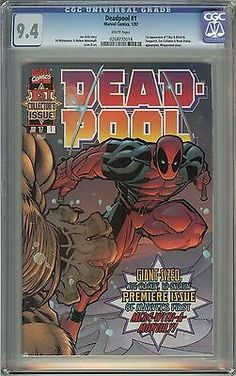 Deadpool #1 (1st Series 1997) CGC 9.4 White Pages 0268772014