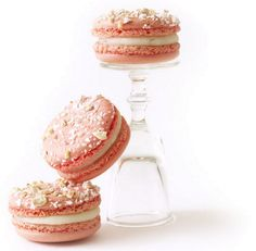 macaroons: I hove the stylizing of this photo- using an upside down glass for height- Brilliant!!!!