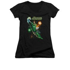 Justice League of America - Galactic Guardian Junior V-Neck T-Shirt