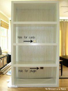 Ikea-Lack-Bookcase-with-grasscloth-wallpaper