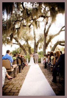 Beautiful outdoor southern wedding!!!