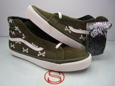 3798fd5f7a Details about Vans x Wtaps OG SK8-HI LX Olive Bones Crossbones Whisp Shoes  Vault W)tap Supreme