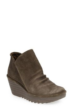 Fly London 'Yip' Wedge Bootie (Women) available at #Nordstrom