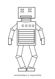 7 beste ausmalbilder roboter, kampfroboter, bastelbogen