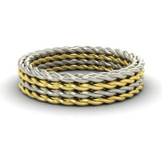 5mm Twisted Rope Style 14k Yellow Gold Men's Engagement Wedding Band Ring | eBay