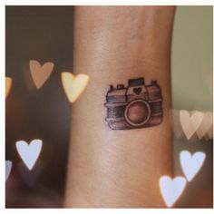 Camera tattoo: on the back of my neck!