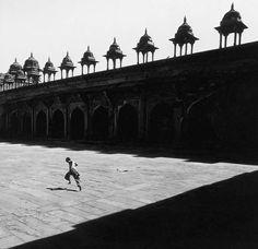 Lucien Hervé (Elkán László): Fatepur Sikri; Indien 1955 Courtesy Galerie Camera Obscura