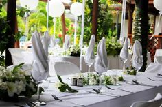 Add pink table runners