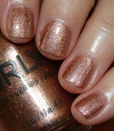 ORLY Mulholland Fall 2016 Collection | Vampy Varnish / Million Dollar Views is a copper metallic with golden shimmer