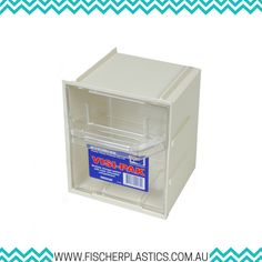 The Fischer Plastics Visi-Pak has clear removable compartments, which keeps contents clean and allows easy visual stock control. They are ideal for home storage, in store merchandising, crafts, office supplies, trade and warehousing needs.