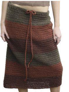 örgü-etek Crochet Skirts, Knit Skirt, Crochet Clothes, Tunisian Crochet, Knit Or Crochet, Crochet Crafts, Skirt And Top Dress, Crochet Magazine, Crochet Fashion