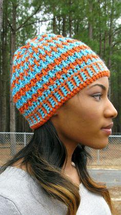 Morning Frost - A Free Crochet Hat Pattern by ELK Studio