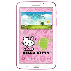 Samsung Galaxy Hello Kitty Tablette tactile cm) Dual core GHz 8 Go Android Jelly Bean Wi-Fi Chat Hello Kitty, Hello Kitty Kitchen, Diy Case, Diy Phone Case, Tablet Galaxy, Quad, Samsung Photos, Box Template Printable, Samsung Galaxy Wallpaper