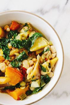 Comforting Roasted Vegetable Stew pinned with Pinvolve - pinvolve.co
