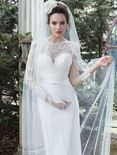 060d65b5e7abe 2016 Wedding Dress Trends  Long Sleeves. Vaughn by Maggie Sottero. Bridal  Gowns