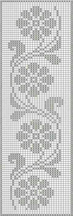 Crochet Edging Free Patterns Archives - Beautiful Crochet Patterns and Knitting Patterns - Filet Crochet Charts, Crochet Borders, Crochet Cross, Knitting Charts, Thread Crochet, Easy Crochet, Crochet Stitches, Knitting Patterns, Filet Pattern Crochet