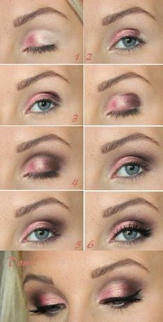 Cute Eye Makeup For Blue Eyes