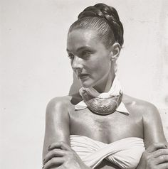LOUISE DAHL-WOLFE 1945. Louise Emma Augusta Dahl (November 19, 1895 – December 11, 1989) was an American photographer. She is known primarily for her work for Harper's Bazaar, in association with fashion editor Diana Vreeland.
