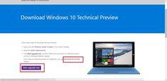 Conoce como descargar e instalar en tu ordenador la ultima versión de Windows 10 gracias a la cual podrás disfrutar de las futuras características de la versión final como por ejemplo el asistente de voz Cortana.