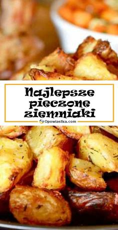 Polish Recipes, Great Recipes, Side Dishes, Good Food, Menu, Potatoes, Cooking, Healthy Living, Diet