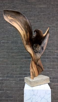 """"""" THE LOOK OF THE EAGLE """" by JVB wood sculpture ✖️ Art. Ideas. Home. Fashion ✖️FOSTERGINGER AT PINTEREST ✖️"""