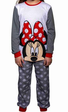 Pajama Minnie Mouse Minnie Mouse, Kids Fashion, Hoodies, Sweaters, Pajamas, Cotton, Child Fashion, Sweater, Parka
