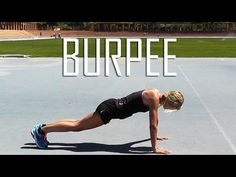 Cómo hacer un Burpee - YouTube Burpees, Yoga, Gym, Running, Workout, Health, Youtube, Vitamins, Flat Abs Workout