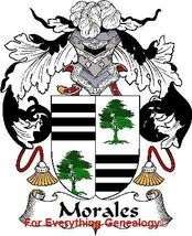 sur name scroll for Morales | MORALES Spanish Coat of Arms Print MORALES Family Crest added to cart ...