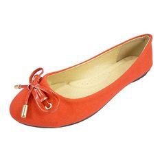 Ballerines chaussures femme tissu, toile et noeud vernis
