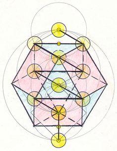 Buckminster Fuller's Vector Equilibrium. (Cuboctahedron)