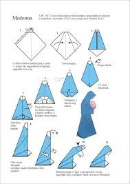 virgem maria diagrama para origami - Pesquisa Google