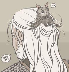 velvetto draws - Geralt and Regis