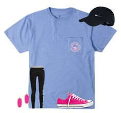 """i will never forget you❤️"" by texasgirlfashion ❤ liked on Polyvore featuring NIKE, Converse and Kendra Scott"
