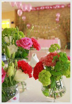 Fiesta en rosa y verde