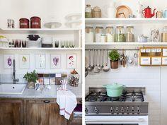Copia l'idea! 12 cucine chic con tutto 'a vista'