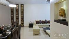 Ein lässiger, aber raffinierter Look: Apartment by Mumbai, Indien Luxury Living Room, Interior Design Photos, Apartment Interior, Living Room Decor Apartment, Cheap Apartment Decorating, Apartment Interior Design, Minimalist Living Room, Apartment Decor, Interior Design