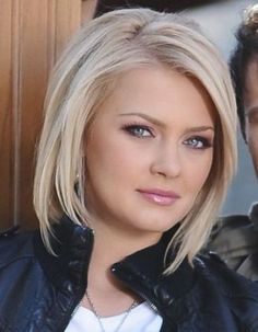 21 Best Short Haircuts For Fine Hair - hair styles for short hair Double Chin Hairstyles, Plus Size Hairstyles, Haircuts For Thin Fine Hair, Short Hair Styles For Round Faces, Hairstyles For Round Faces, Cool Hairstyles, Office Hairstyles, Anime Hairstyles, Short Hair For Round Face Double Chin