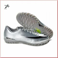 Wholesale Discount Nike Mercurial Vapor IX TF Silver Black Green The Most Lightweight Shoes Green Football Boots, Cheap Football Boots, Football Shoes, Nike Football, Futsal Football, Basketball Shoes, Adidas Soccer Boots, Nike Boots, Cheap Soccer Cleats