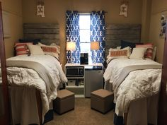 Ole Miss Crosby dorm room