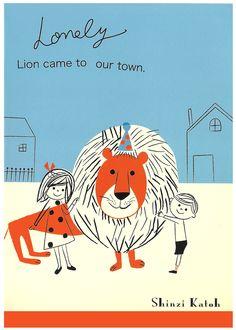 Shinzi Katoh Lonely Lion A5 Notebook