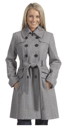 Autumn/Winter 2010/2011 Wool trench coat. Photo from Flights of Fab Fashion Fancy.