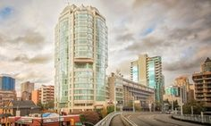 Groupon - 1- or 2-Night Stay for Two with Parking and a Bottle of Wine at Executive Hotel Vintage Park in Vancouver, BC in Vancouver, BC. Groupon deal price: C$99
